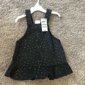First Impressions corduroy dress NWT